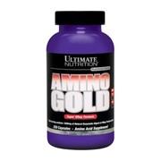 Аминокислоты, Amino Gold 1000 mg, 250 капсул фото