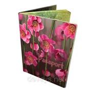 Стильная обложка на паспорт Висящие сады фото