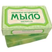 Мыло натуральное Мелисса (крымское) Мыло твердое туалетное 82г фото