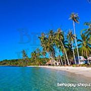 """Фотообои: """"Тропический остров"""" фото"""