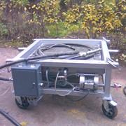 Мобильная гидроабразивная установка открытого типа с принудительной подачей суспензии. МБ-140 фото