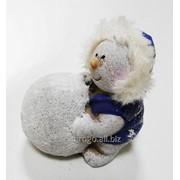 Снеговик керамический микс 8,5 см К71706 фото