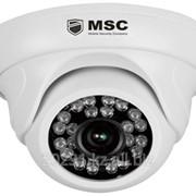 Купольная IP камера, 1,0MP, (960P), с ночным видением 40 м фото