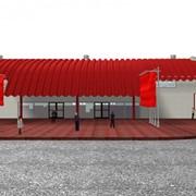 Комплект здания, помещения для торговли фото