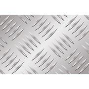 Алюминиевый лист рифленый от 1,2 до 4мм, резка в размер. Гладкий лист от 0,5 мм. Доставка по всей области. Арт-734 фото