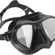 Nano Cressi sub маска с двумя иллюминаторами, Сменные стекла, HD, Коробка, Чёрный фото