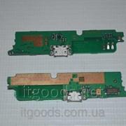 Шлейф (Flat cable) с коннектором зарядки, микрофона для Lenovo A859 4667 фото