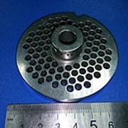 ZI1245.U.1034.0 Решетка #12 для промышленной мясорубки системы Enterprise ( Д-70/10мм, раб. Отв. 4,5мм) фото