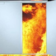 Противопожарные ворота и двери фото
