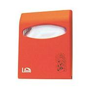 Диспенсер д/покрытий на унитаз LIME Color mini оранжевый фото