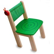 Детский деревянный стульчик (зеленый) арт.42022GR фото