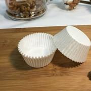 Пергаментные капсулы круглые. Цвет: белый, d43х26, 2000 шт. фото