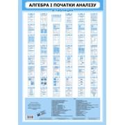 Алгебра і початки аналізу в таблицях. 59-83 см. 48 сторінок. Навчальний посібник. Батюк О. З фото