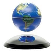Парящий глобус 10см (синий) фото