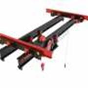 Опорные мостовые краны (кран-балки) электрические однобалочные г/п 1-16 т. фото