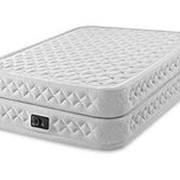 Надувная кровать Supreme Air-Flow Bed 152х203х51см, насос (Intex) фото