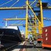 Мультимодальные морские перевозки грузов фото