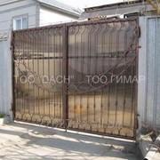 Кованые ворота 4 фото