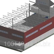 Строительство складов от 1800 м2 фото