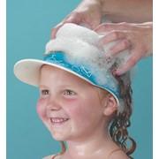 Козырёк Clippasafe Защитный козырек для купания ребенка, голубой_ фото