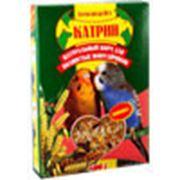 Корм Катрин для волнистых попугаев с орехом, 500г кг фото