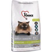 Фест Чойс Сенситив (1st Choice Sensitive Stomach) для кошек, 0,35 кг фото