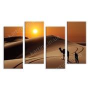 Картина Пустыня на закате фото