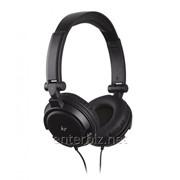 Гарнитура KitSound iD Headhones with Microphone and Multi-function Button Black (KSIDBK) фото