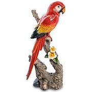 Скульптура Попугай Ара 39,5 см. арт.MN-12 фото