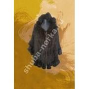Меховая жилетка 75005 фото