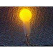 Плей-лайт LED шарики 2х3м 240V (желтый) с контроллером фото