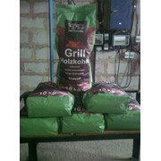 Charcoal packing in paper bags of 10-15 kg фото
