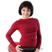 Блуза с драпировками фото