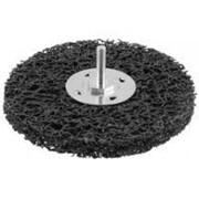 Щетка Зубр Эксперт дисковая для дрели, полимерно-абразивная, с открытой агрессивной структурой, 38мм Код:35162-038 фото