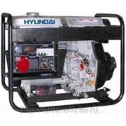 Электрогенератор Hyundai DHY6000LE фото
