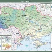 Україна. Клімат, м-б 1:1 000 000 (на планках) фото