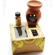 Подарочный набор аромалампа + аромамасло фото