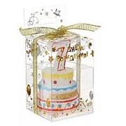 Свеча в торт цифра 7 фото