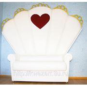 Прокат свадебного трона фото