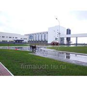 Строительство промышленных объектов фото