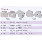 Заглушка для профилей PDS-F с отверстием (012043) фото