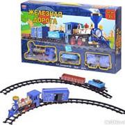 Детская железная дорога ZYC 0646. Звук и дым. фото