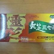 Препарат регулирующий сахар Lingzhi Sanqi Cha фото