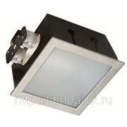 Светильник для КЛЛ 2*26W G24q-3 с ЭПРА белый IP20 фото