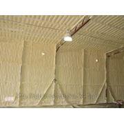 Утепление ангаров и складов пенополиуретаном фото