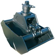 Грейферы: канатный, гидравлический, двухчелюстной, моторный, для металлолома, для сыпучих материалов, лепестковый, многочелюстной, электрогидравлический. Производство грейферов. фото