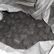 Брикетированный уголь Б-3 (фасованный по 50 кг) фото
