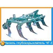Чизель глубокорыхлитель ЧГ - 3 фото