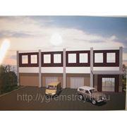 Проектирование и монтаж быстровозводимых коммерческих зданий фото