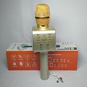 Беспроводной караоке-микрофон Handheld KTV Q5 (золото) фото